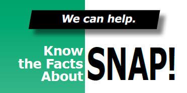 SNAP Supplemental Nutrition Assistance Program