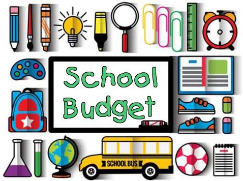 school budget graphic