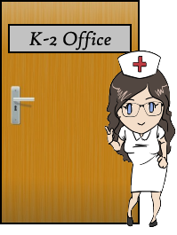 K2 nurse graphic
