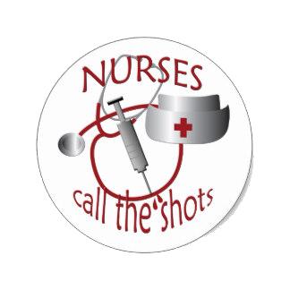 nurses call the shots graphic