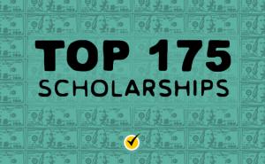 Top 175 Scholarships graphic