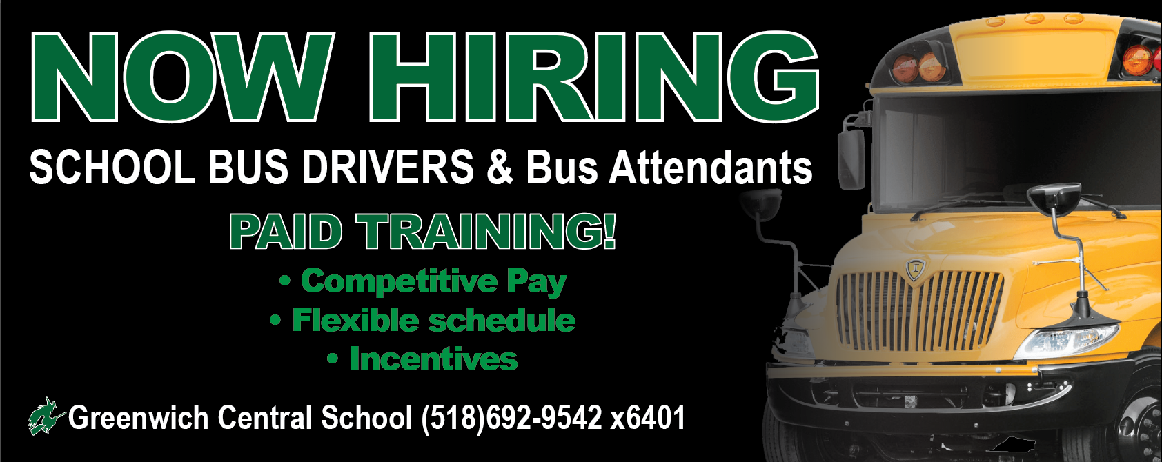 Bus Drivers Wanted graphic