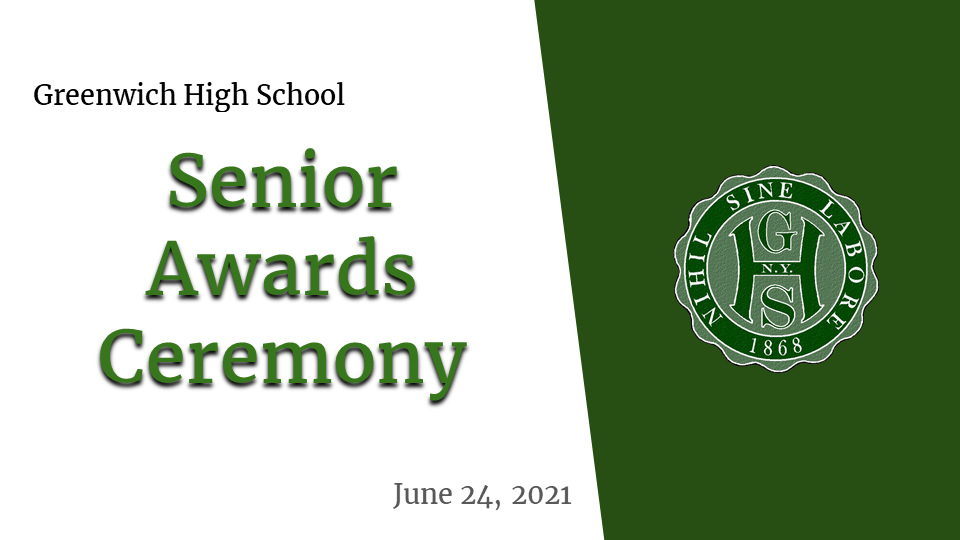 Senior Awards graphic and link