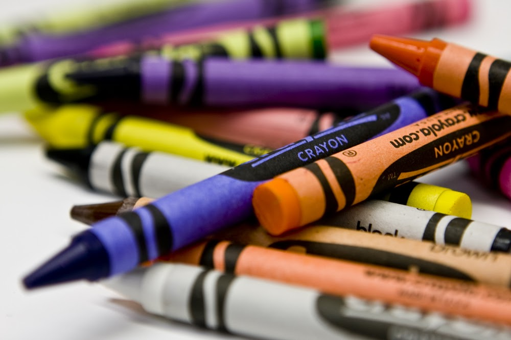 crayons graphic