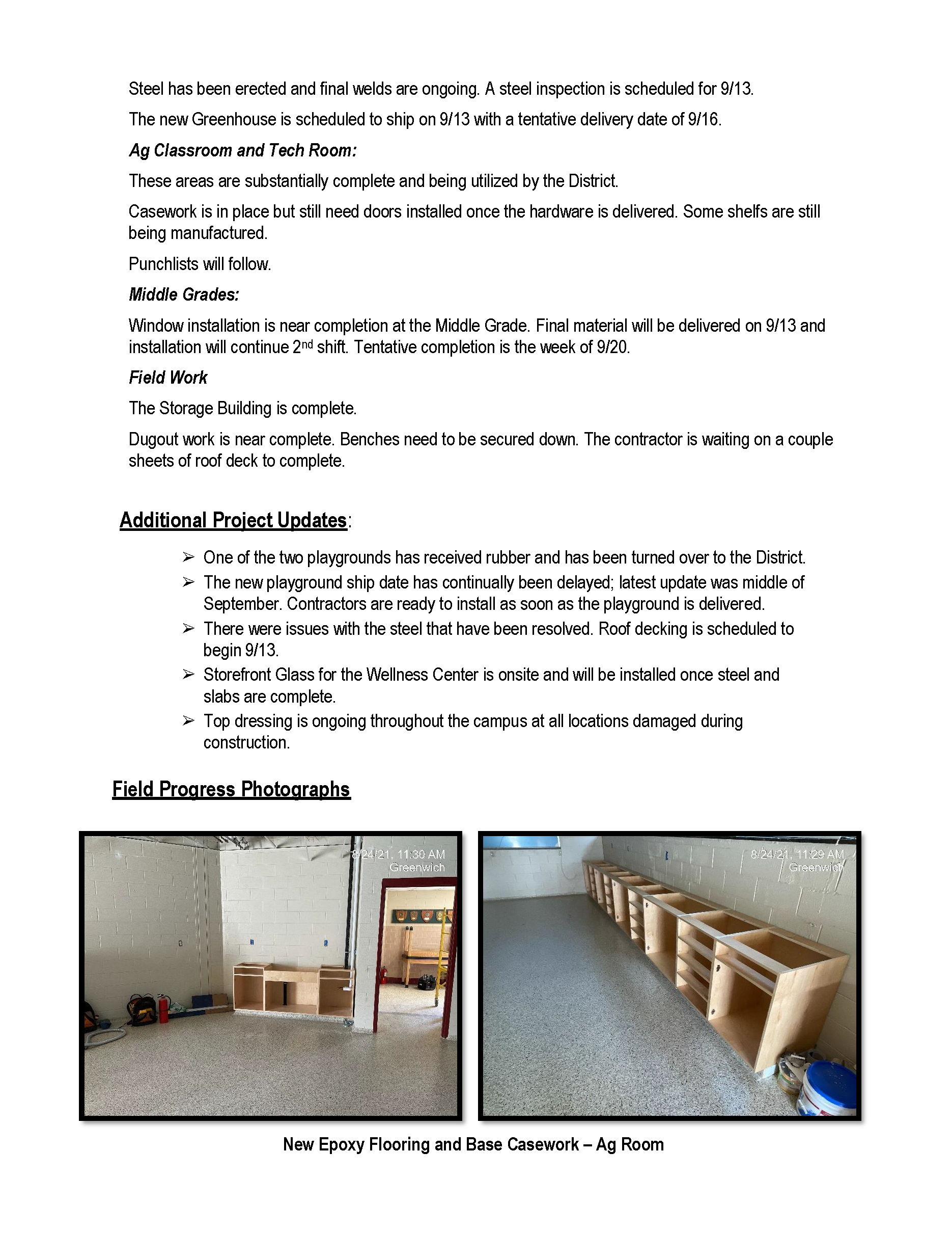 Project Report 9-13 P2