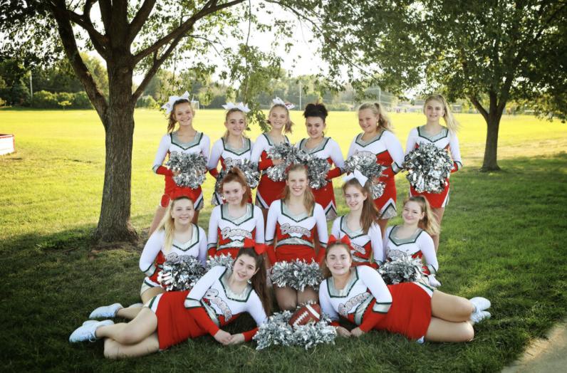 8th Grade Football Cheer