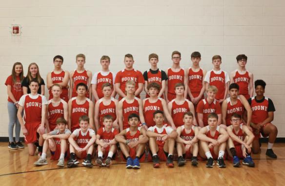 Track & Field Boys: 8th