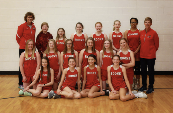 Track & Field Girls: 8th