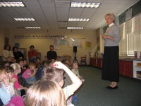 Numerous writers and authors visit the school each year.