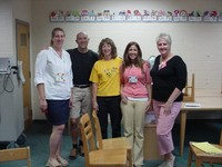 Staff had the opportunity to learn about Peacemaking Circles this past July 2007.