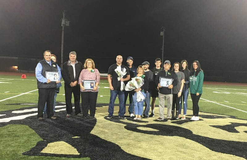 Hall of Fame Induction Ceremony September 27, 2019 Avon vs. Le Roy Varsity Football Game Halftime CeremonyMy Image File