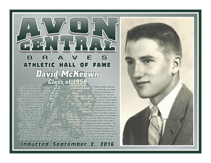 David McKeown - Class of 1958