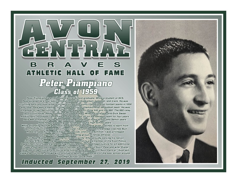 Peter Piampiano - Class of 1959