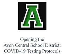 Opening the Avon Central School District - COVID-19 Testing Protocols_Page_1