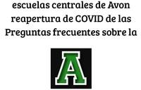 escuelas centrales de Avon reapertura de COVID de las Preguntas frecuentes sobre la_Page_1