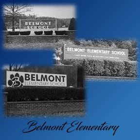 progression of front signs at belmont elementary