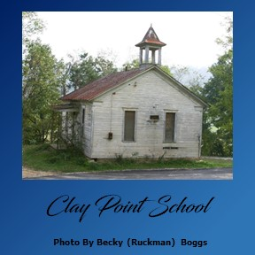 clay point school house