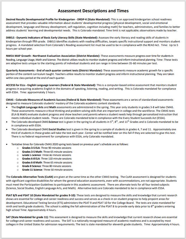 CCSD Assessment Calendar 2021-2022 page 2