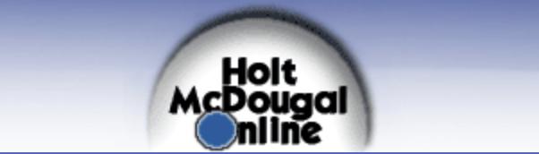 Holt McDougal Online (MMS)