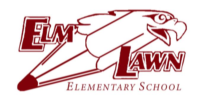 Elm Lawn Eagle Logo