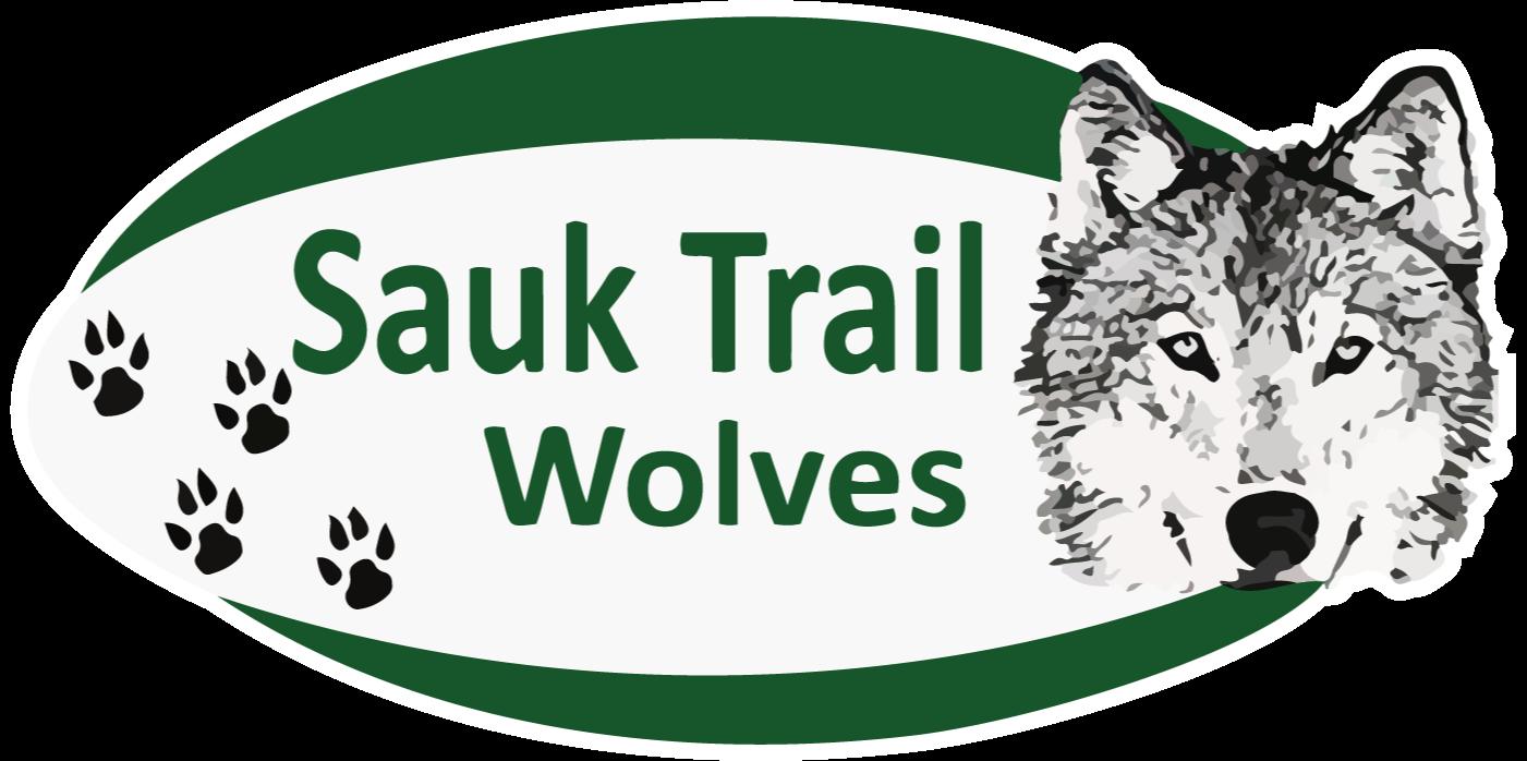 Sauk Trail Wolves logo