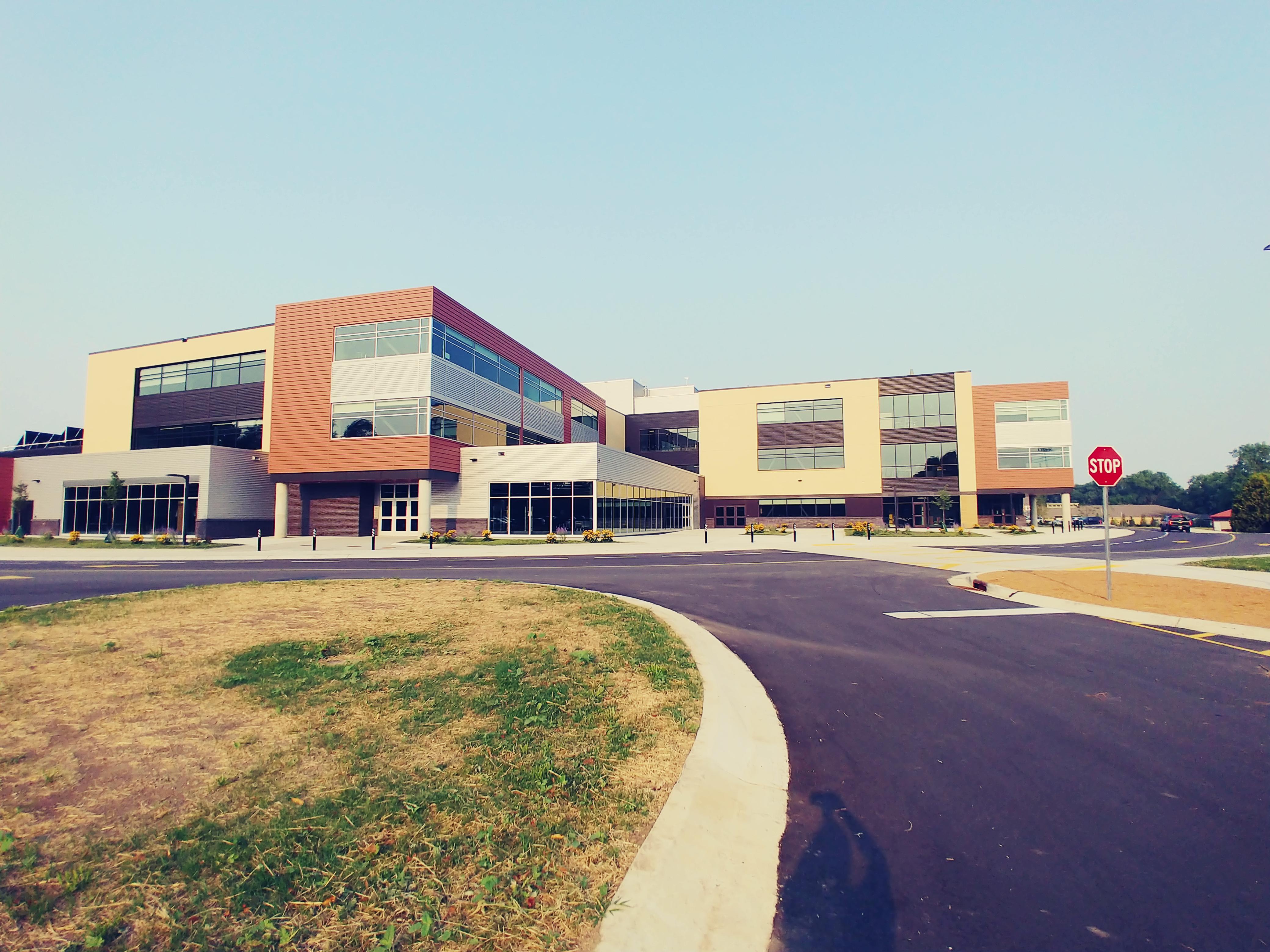 Middleton High School building
