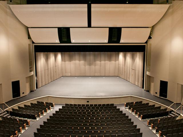 PAC auditorium