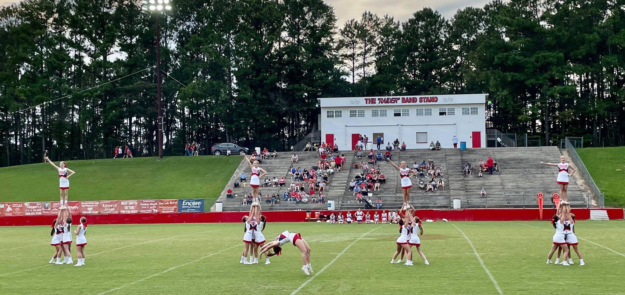 GHM Cheerleaders