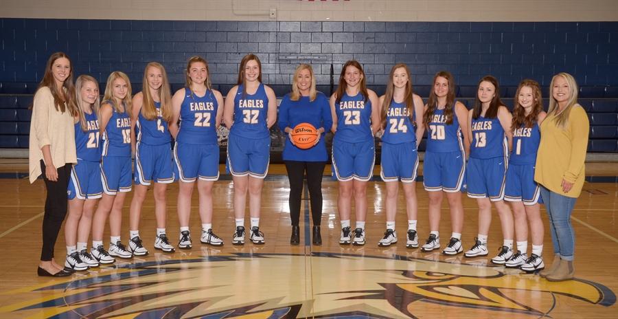2020-21 Cold Springs Junior Varsity Lady Eagles