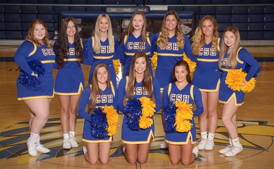 2020-21 Cold Springs Varsity Basketball Cheerleaders Cheer Sponsor - Mrs. Tiffany Davis