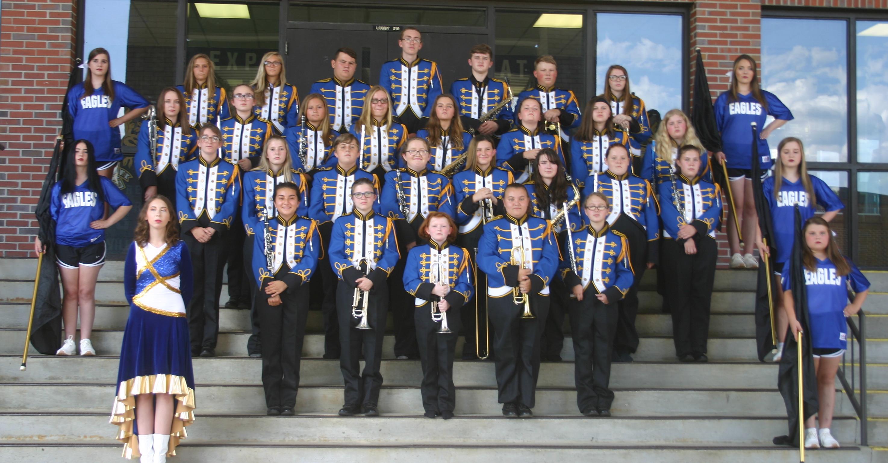 2020-21 Cold Springs Royal Blue Band