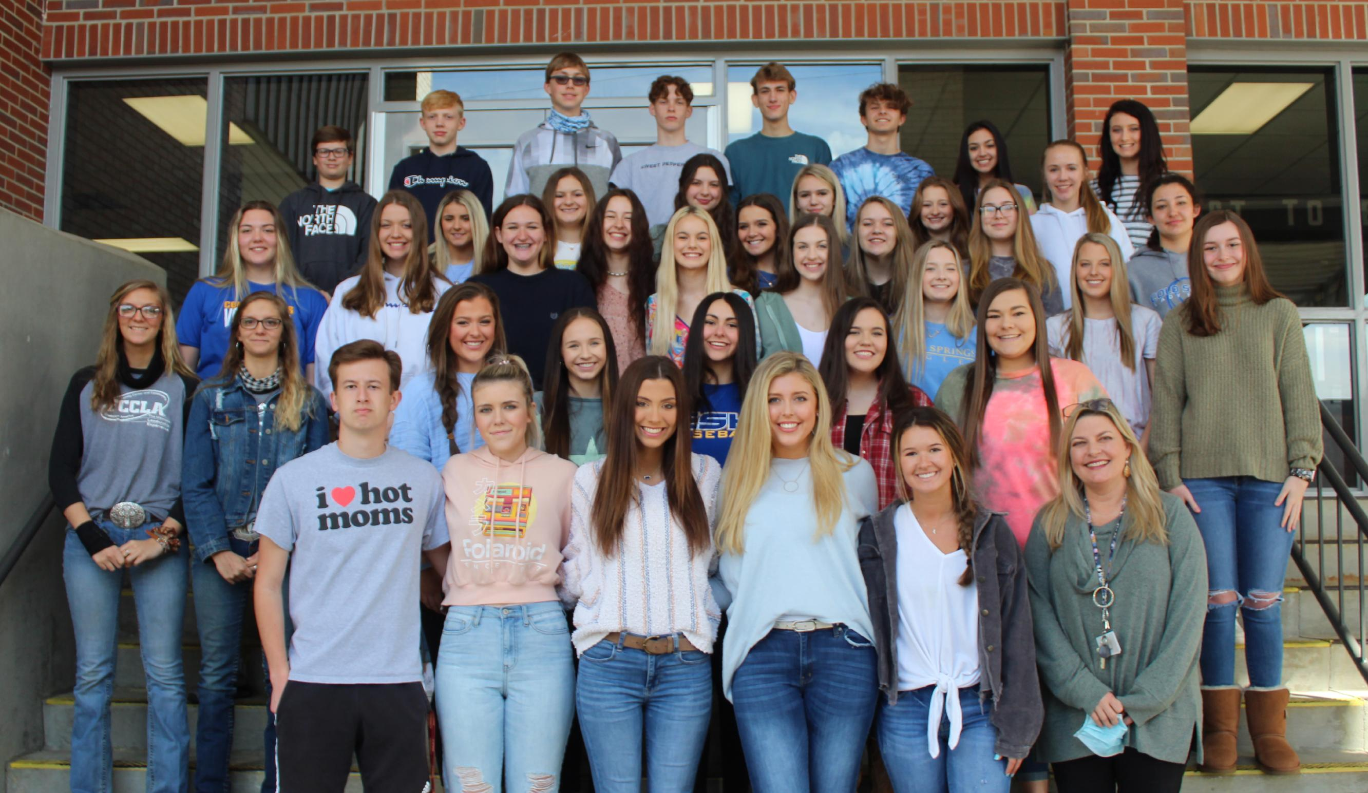 Cold Springs High School Student Government Association 2020-21
