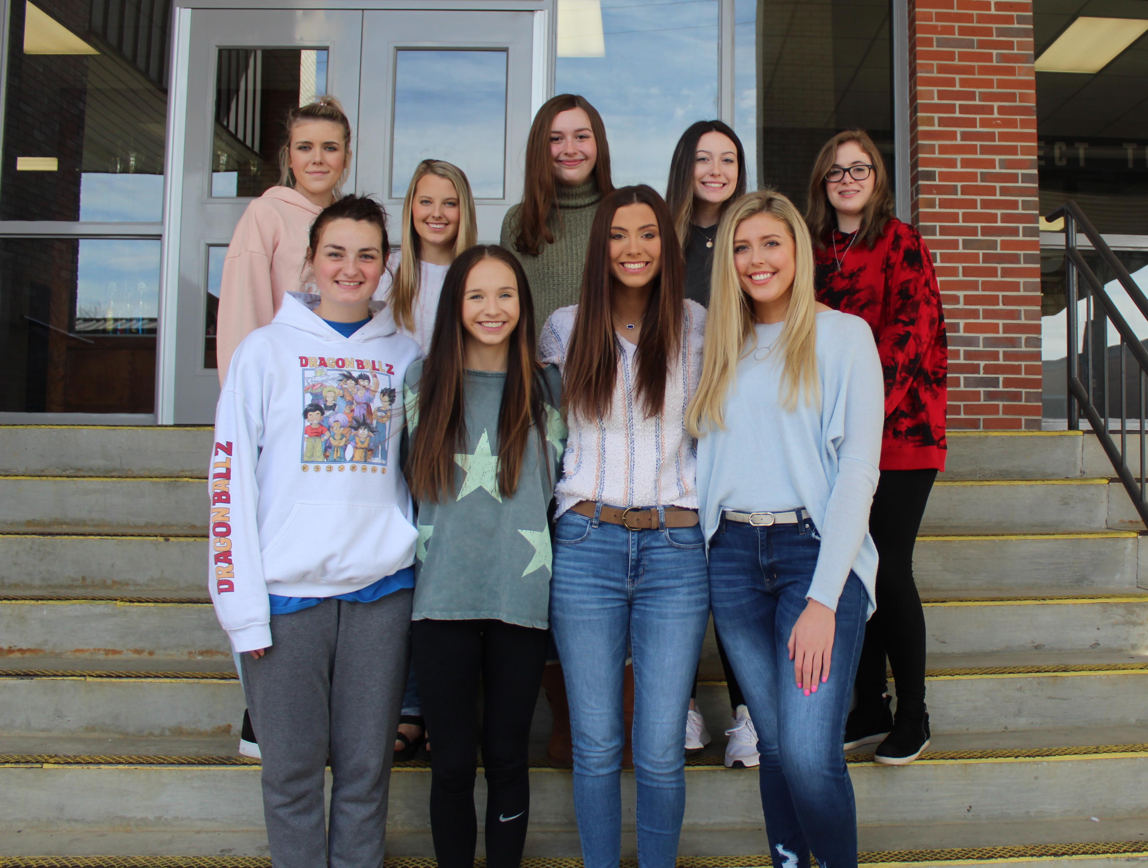 2020-21 CSH Yearbook Staff