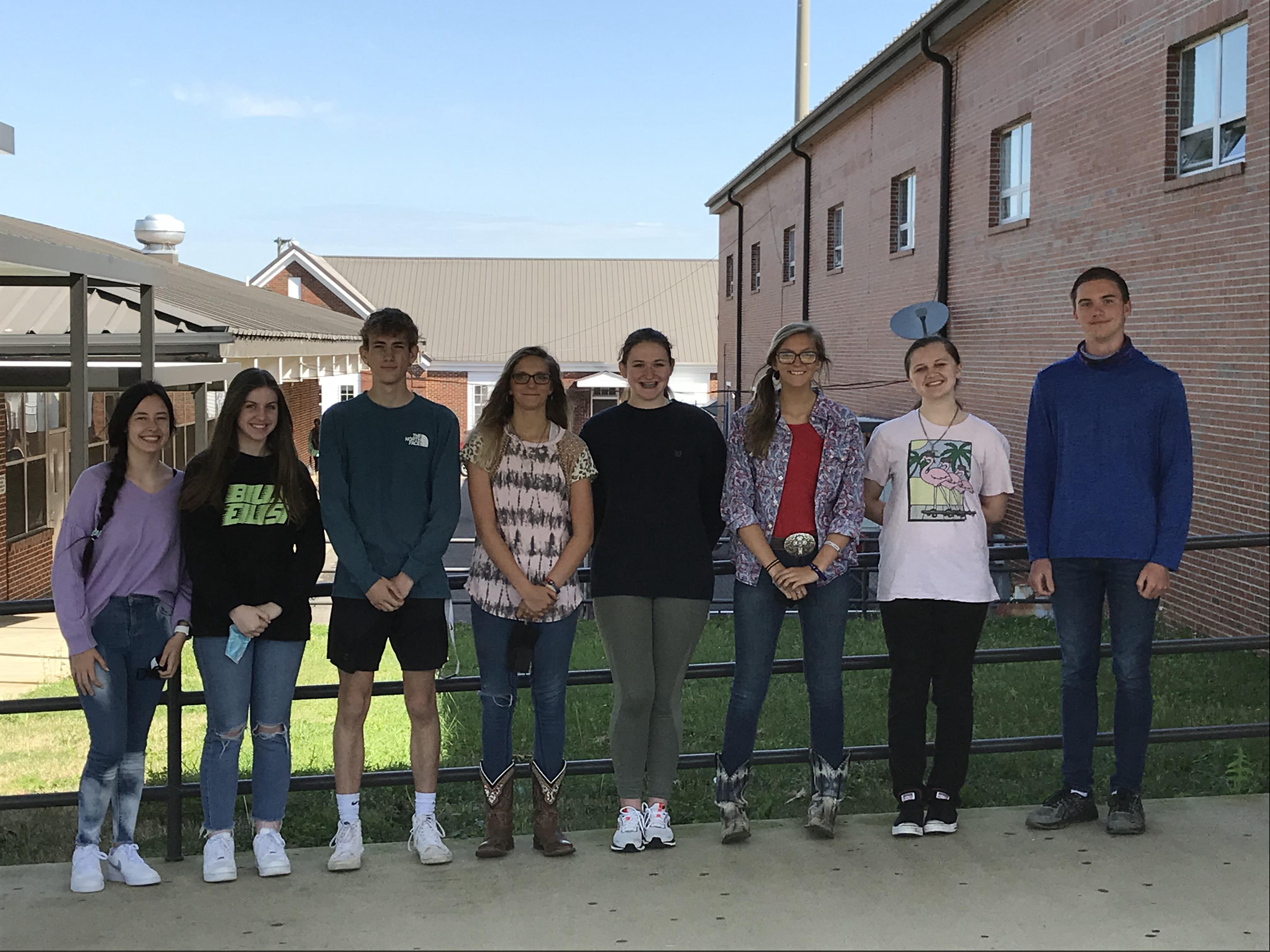 2020-21 CSH Algebra 2 Team