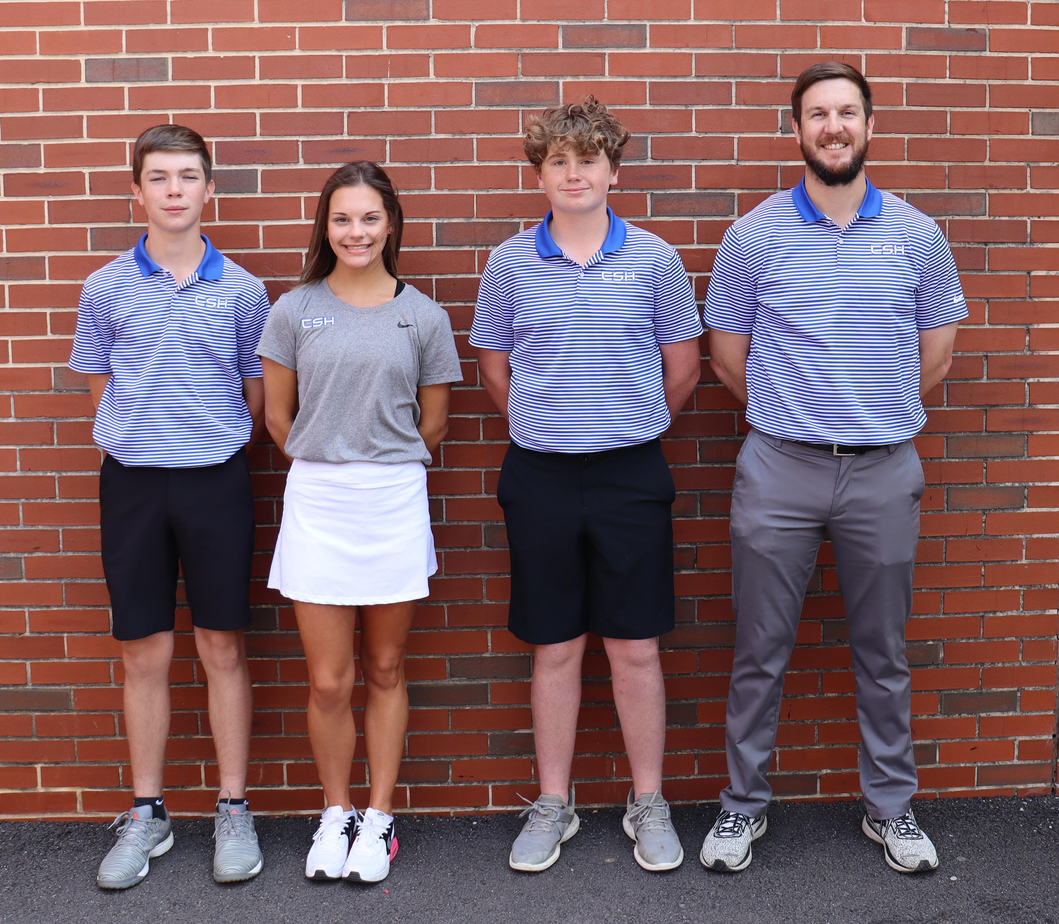CSH Golf Team 2020-21