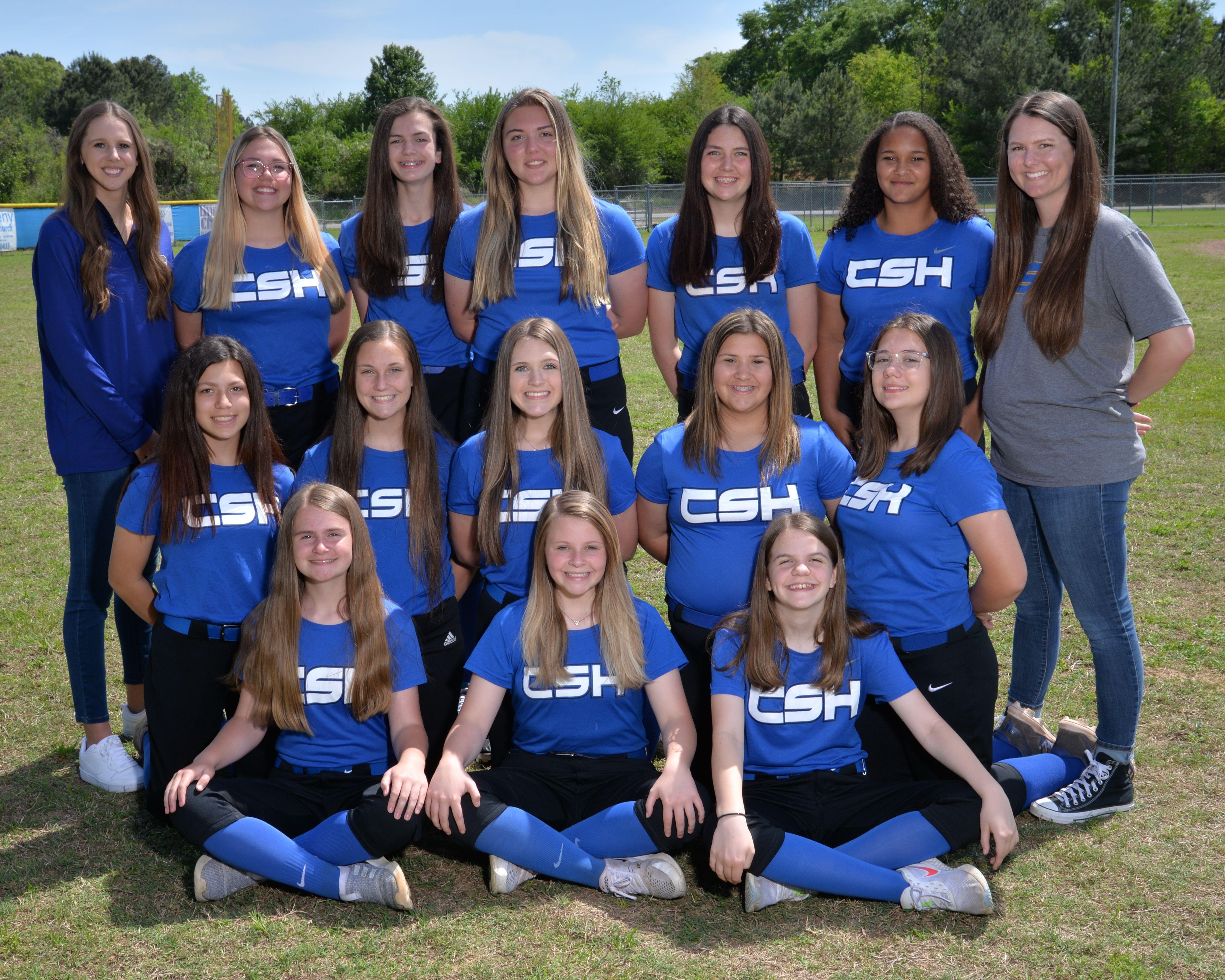 2021 Cold Springs JV Softball Team