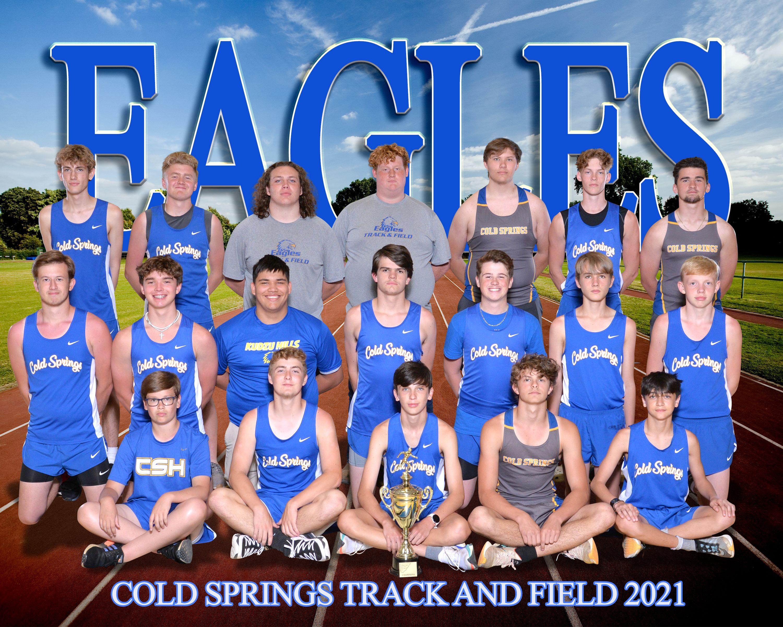 2021 Cold Springs Boys Track & Field Team