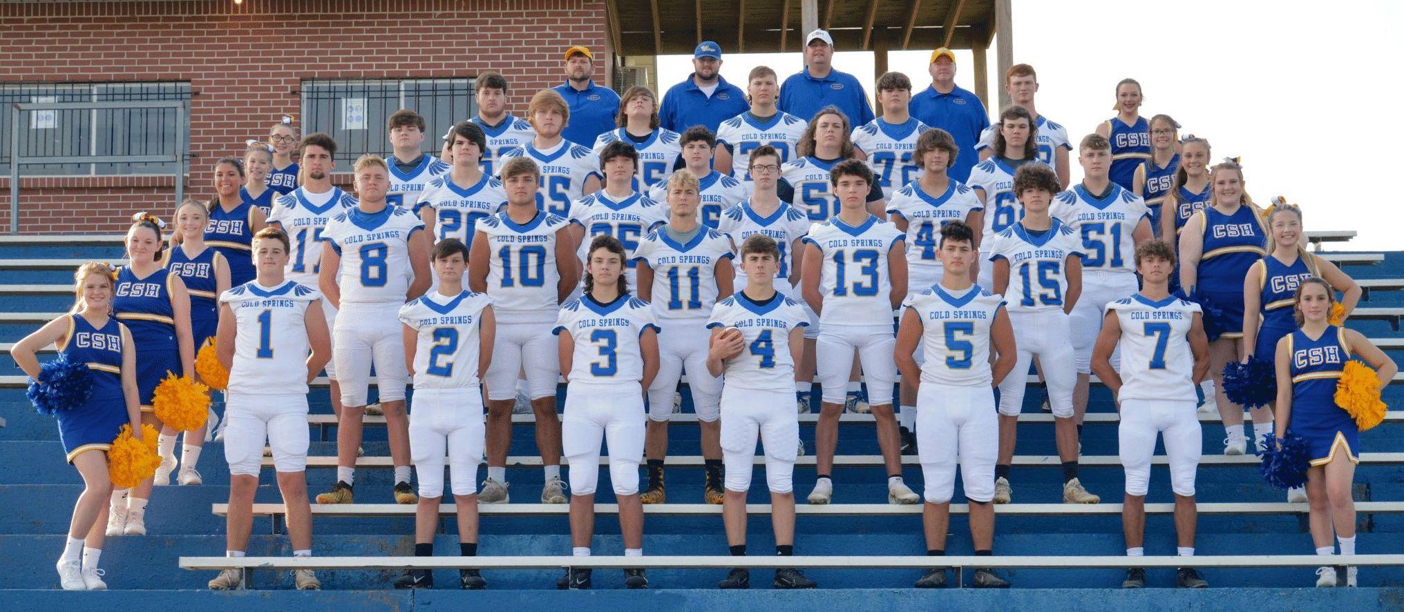 Cold Springs Varsity Football Team 2021-22