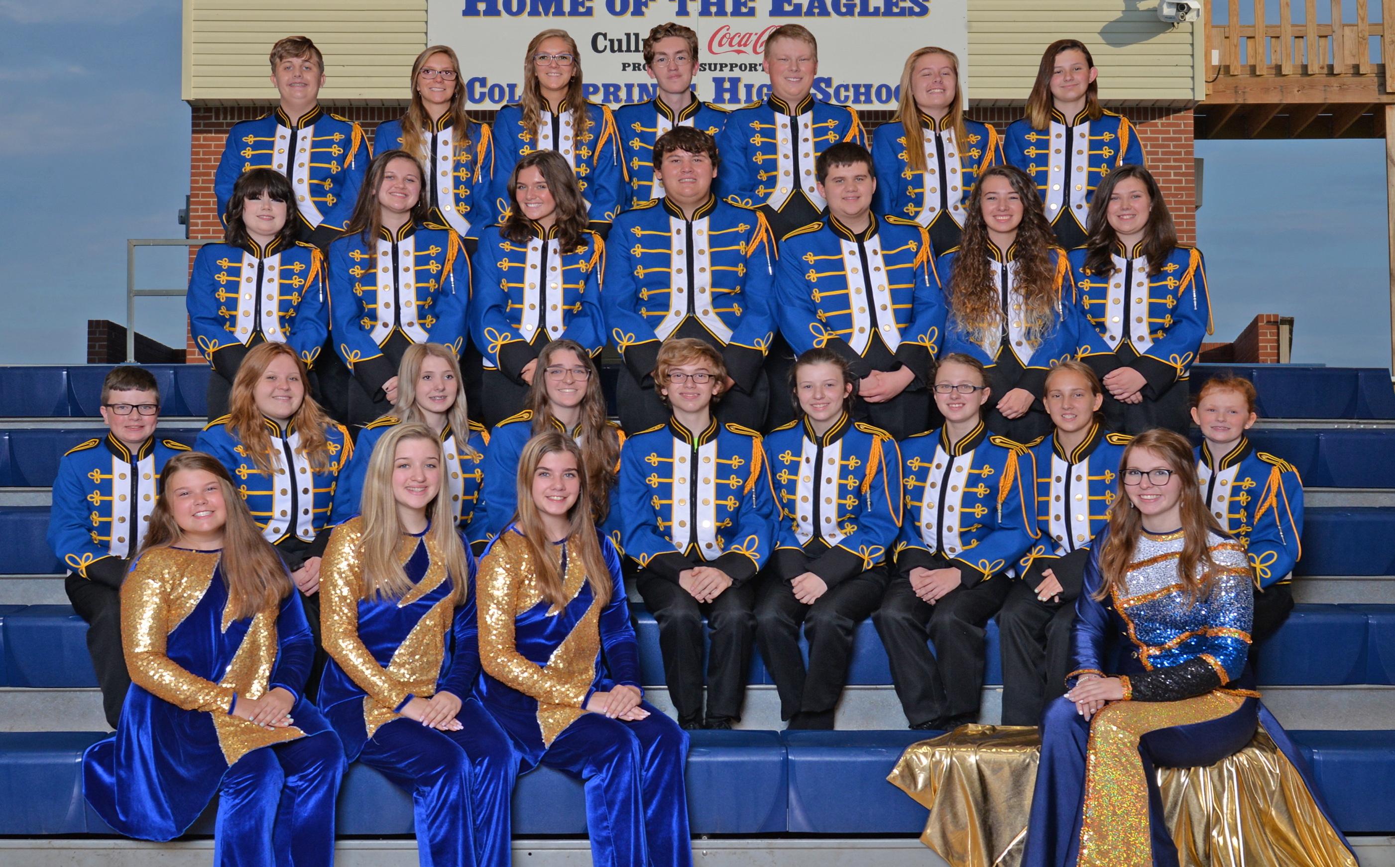2021-22 Cold Springs Royal Blue Band