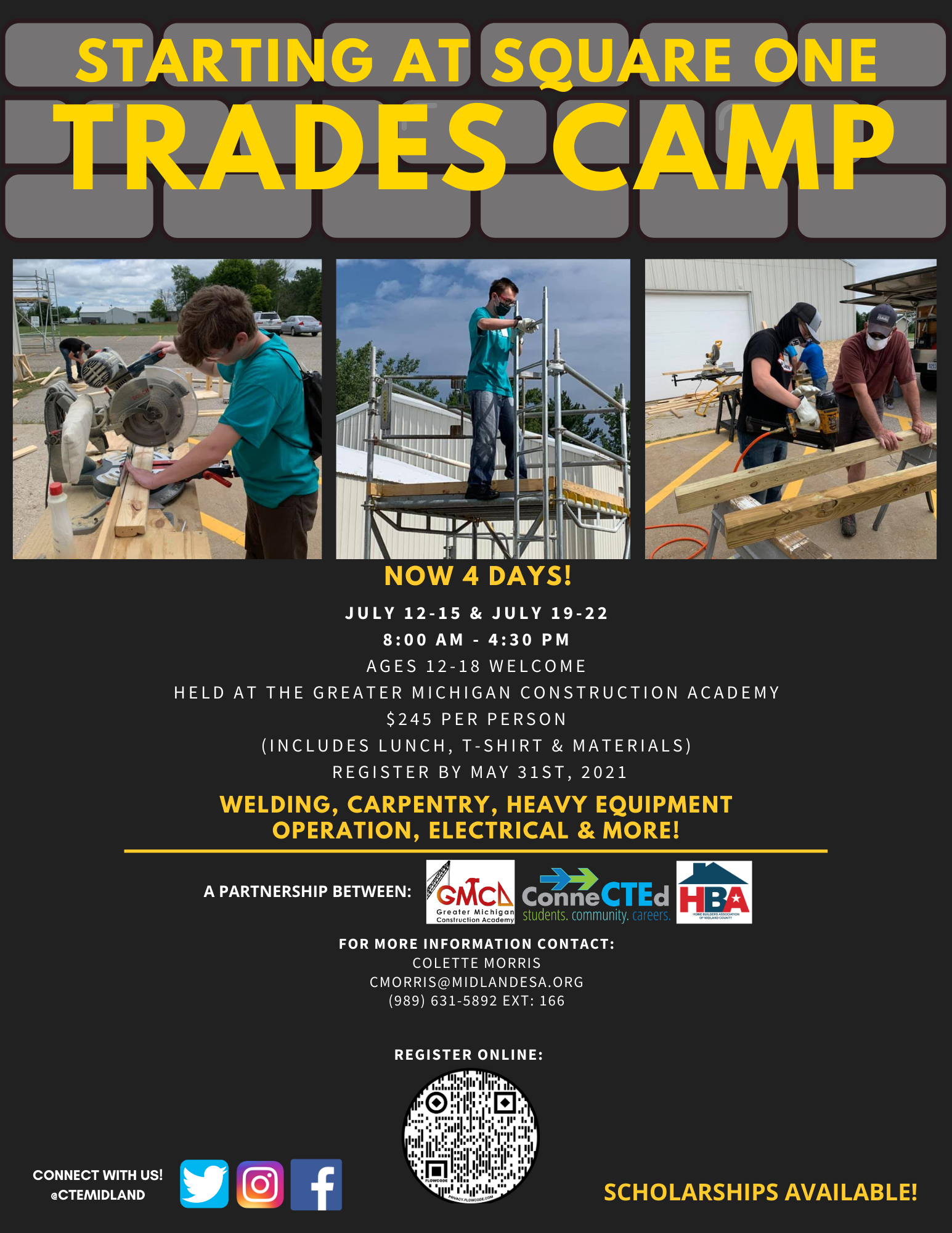 Starting At Square One Trades Camp