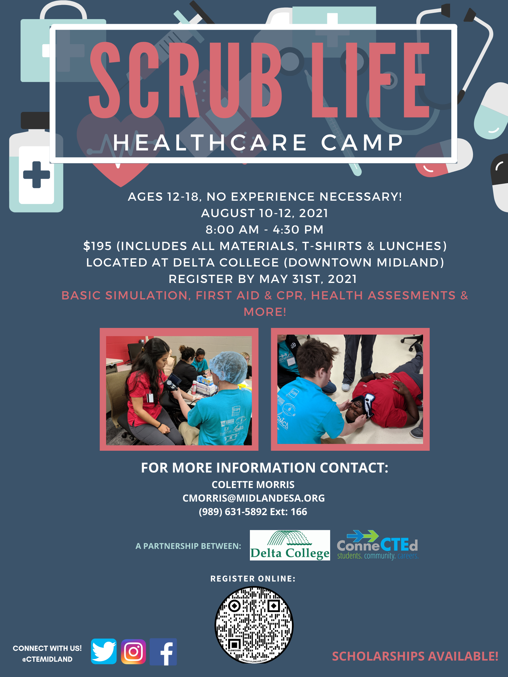 Scrub Life Healthcare Camp