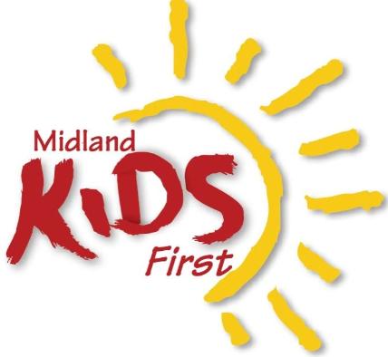 Midland Kids First Logo