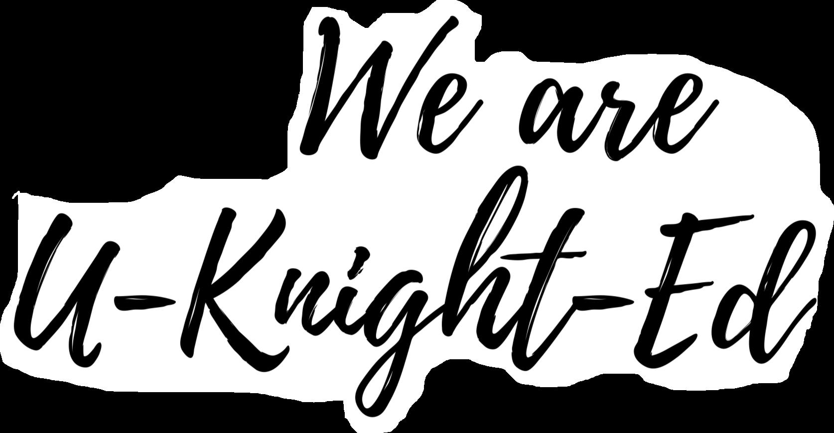 We Are United Slogan Logo