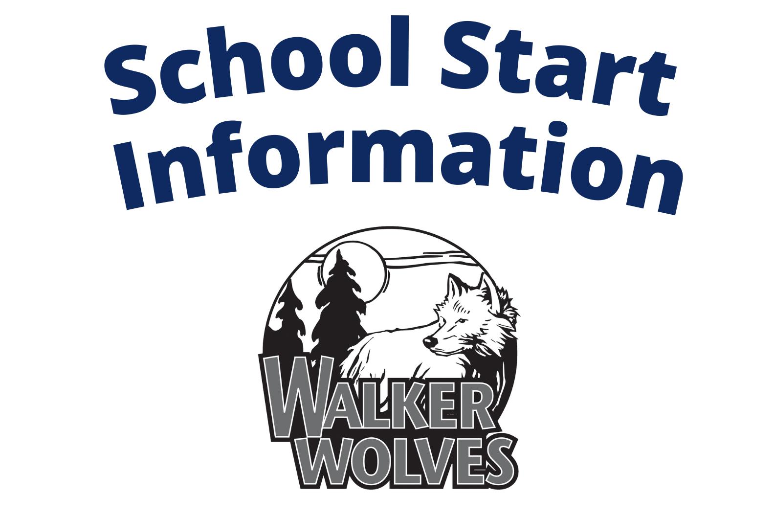 walker wolves logo