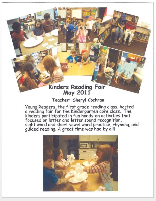 Kinder Reading Fair