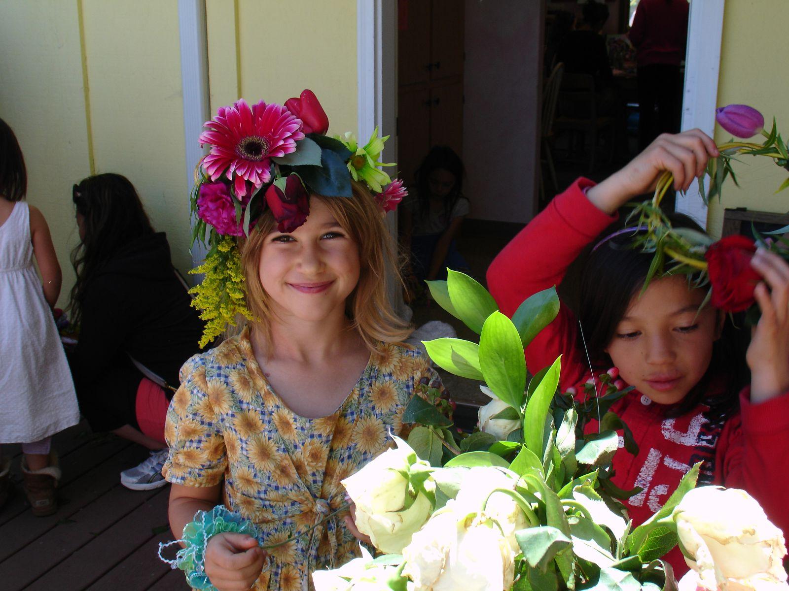 mayday flower crown