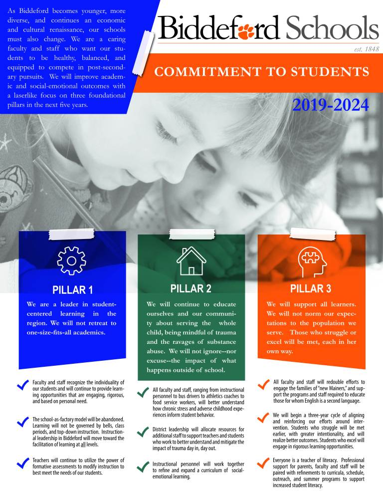 Commitment to Students Flyer