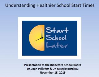 Healtier Start Times
