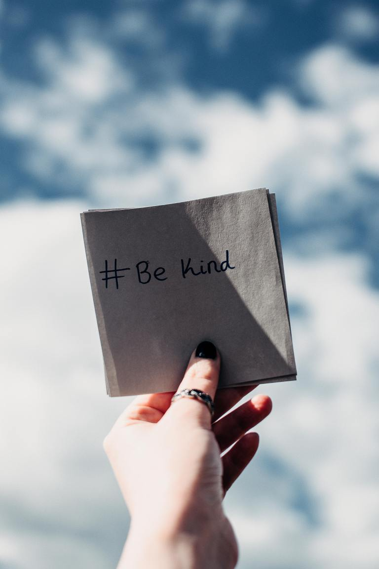 Be Kind Note