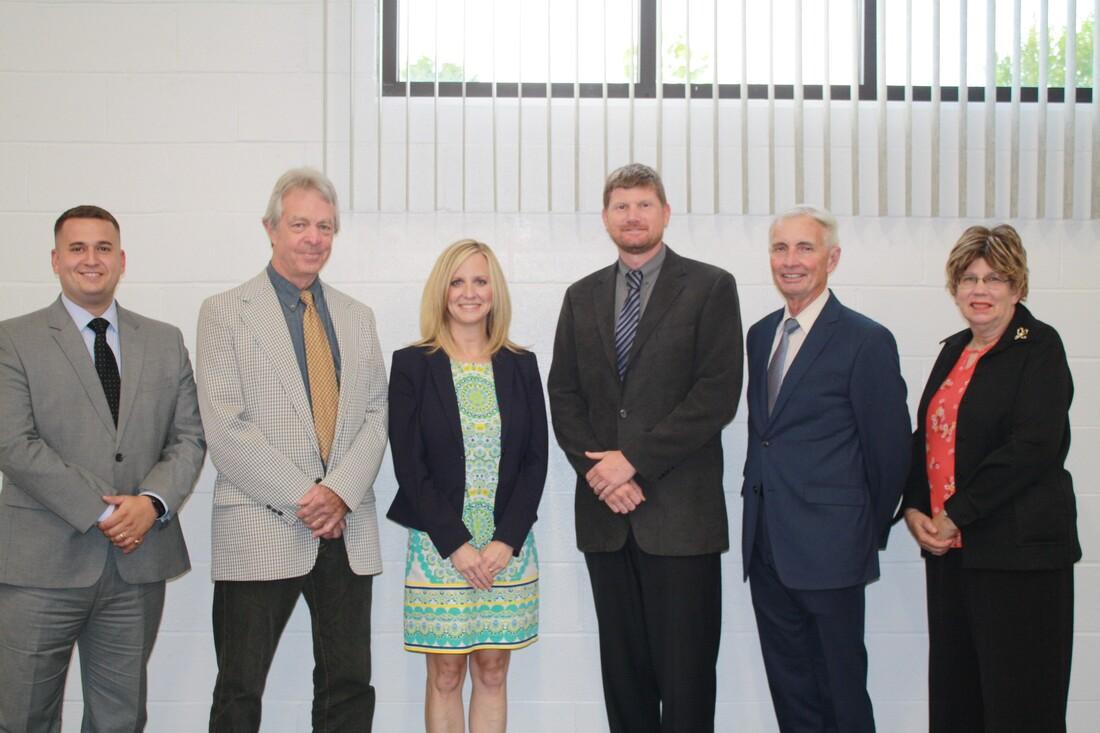 Eric Lyda - Member, Pete Gordon - Vice President, Kristen Tuttle - Superintendent, Aaron Close - President, John Rowland -  Member, Laura Smith - Member
